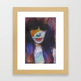 Sleep in Reverb  Framed Art Print