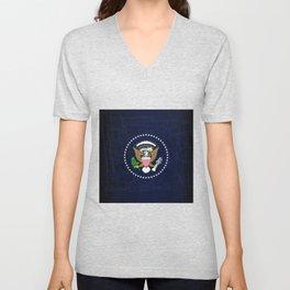 President Seal Eagle Unisex V-Neck