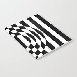 Hot Spot    Black & White Notebook