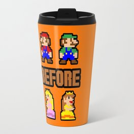 Super Mario Bros Before Hoes Travel Mug