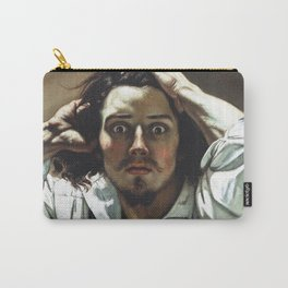 Gustave Courbet-The Desperate Man Carry-All Pouch