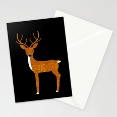 GLITTER DEER II Stationery Cards