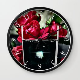 Glass of Space Wall Clock