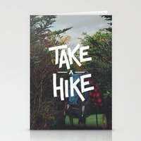 backpack Stationery Cards featuring Take A Hike by Zeke Tucker