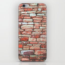 Brick Wall (Color) iPhone Skin