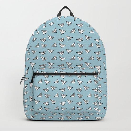 Paper Plane #2 Backpack
