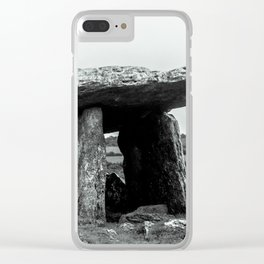 The Poulnabrone Dolmen - Ireland Clear iPhone Case