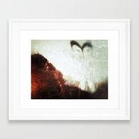 cyclops Framed Art Prints featuring Cyclops  by Stephan Brusche