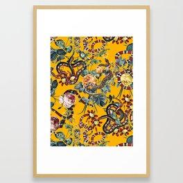 Dangers in the Forest III Framed Art Print