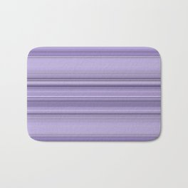 Pantone Purple Stripe Design Badematte