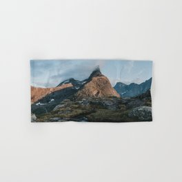 Romsdalshorn - Landscape and Nature Photography Hand & Bath Towel