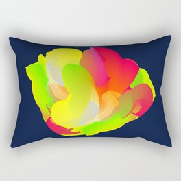Abstract flower Rectangular Pillow