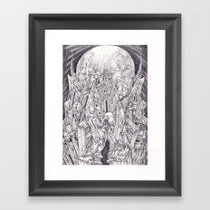 Plenilune Framed Art Print