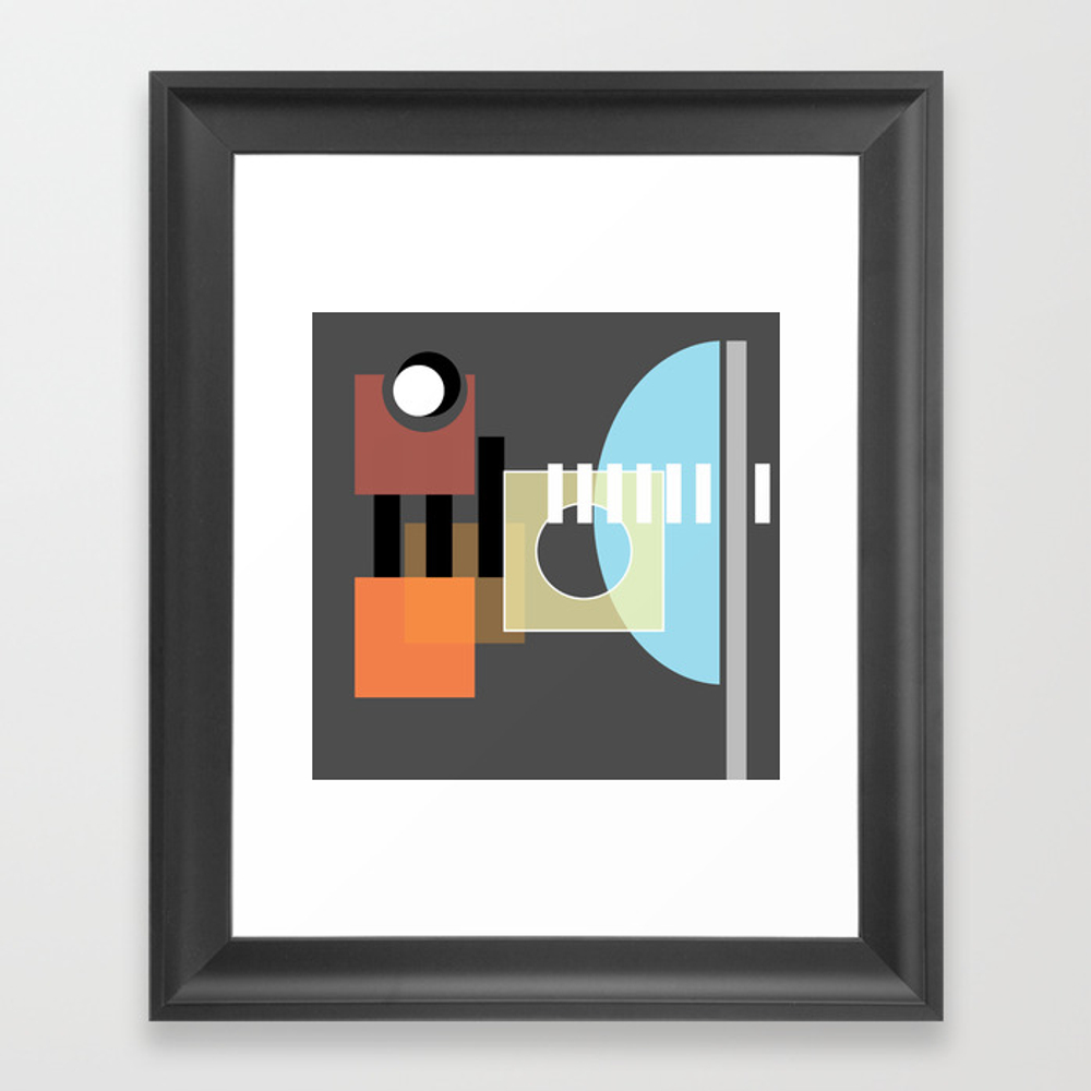 >> Miss You Already >> Framed Art by Halfmoonhappy FRM9045587