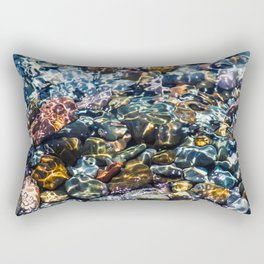 Pebble beach 4 Rectangular Pillow