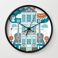 Festive Wall Clock