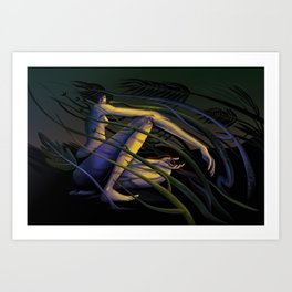 Year of the Snake Art Print