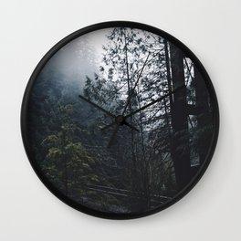 Forest Bridge Wall Clock