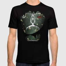 Mandalorian Bounty Hunter Black LARGE Mens Fitted Tee