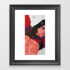 Roberta Framed Art Print