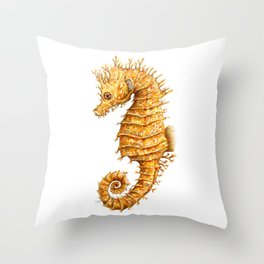 Sea horse, Horse of the seas, Seahorse beauty Throw Pillow