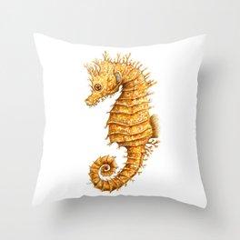 Sea horse, Horse of the seas, Seahorse beauty Throw Pillow