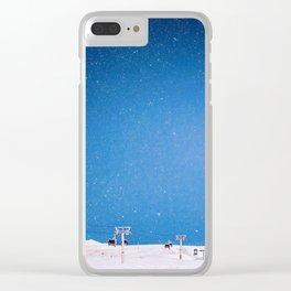 Gudauri Georgia Clear iPhone Case