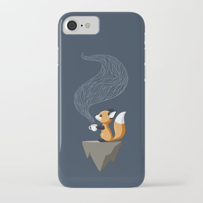 fox tea iphone case