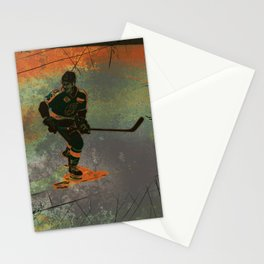 The Game Changer - Ice Hockey Tournament Stationery Cards