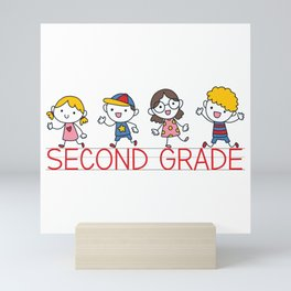 Second Grade School Mini Art Print