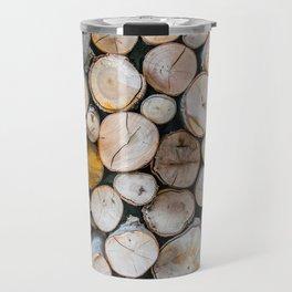 Logged Travel Mug