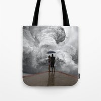 storm Tote Bags featuring Storm by Cs025