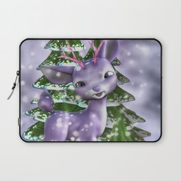 Fawn in the forest Laptop Sleeve