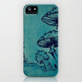 Mushroom Garden iPhone Case