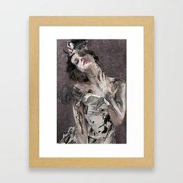 Papierniczanka Framed Art Print