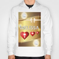 melissa smith Hoodies featuring Melissa 01 by Daftblue