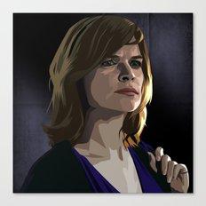 Breaking Bad Illustrated - Marie Schrader Canvas Print