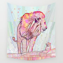 Father and Son Wall Tapestry