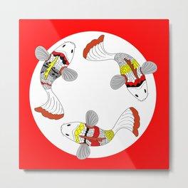 Koi / Japanese fish  Metal Print