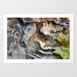 Beach Abstract #2 Art Print