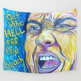Hurricane Christie Wall Tapestry