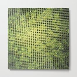 Green Heavens From Above Metal Print