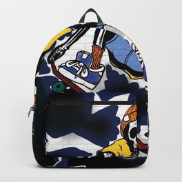 Wicked Electrocuted Skeleton Boy Backpack