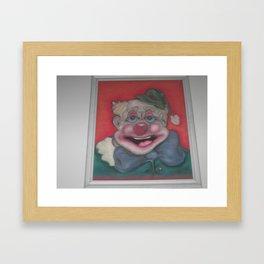 Happy The Clown Framed Art Print