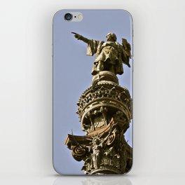 Christopher Columbus iPhone Skin