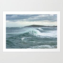 Storm Surfers, Fidstral Art Print