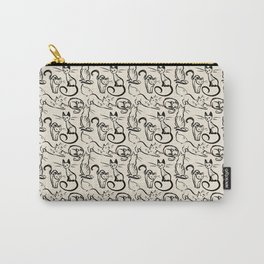 Sketch Cats Carry-All Pouch