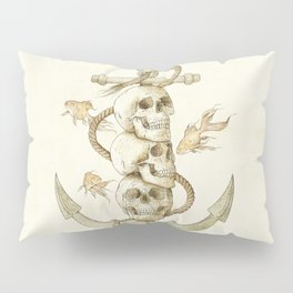 Three Missing Pirates Pillow Sham