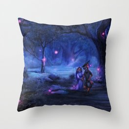 Love Goes On and On Throw Pillow