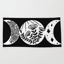 Goddess Above & Below Beach Towel